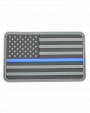Thin Blue Line Flag vinyl patch