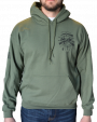 One Shot One Kill Sweatshirt in Green