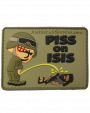 Piss on ISIS Vinyl Velcro Patch