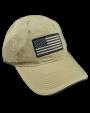 American Flag Cap Tan.