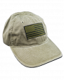 American Flag Cap Green.