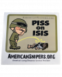 Piss On Isis Adhesive Decal
