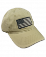 American Flag Cap Tan.